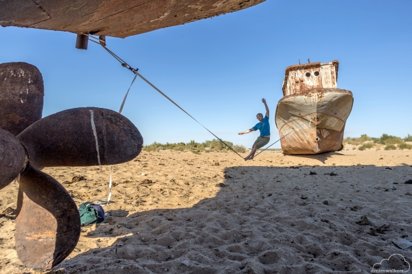 Aral Sea Rodeo Line
