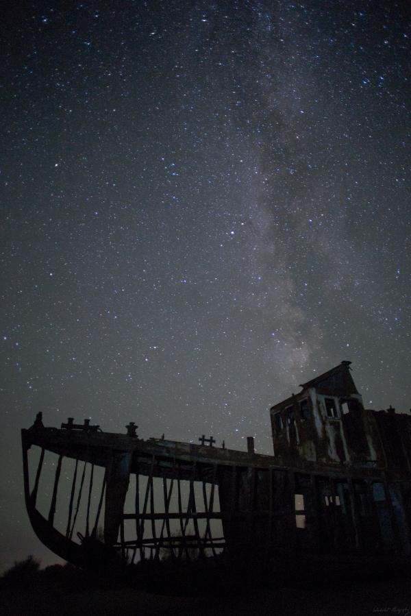 Aral Sea Ship Stars