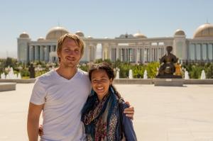 David & Tamar Ashgabat