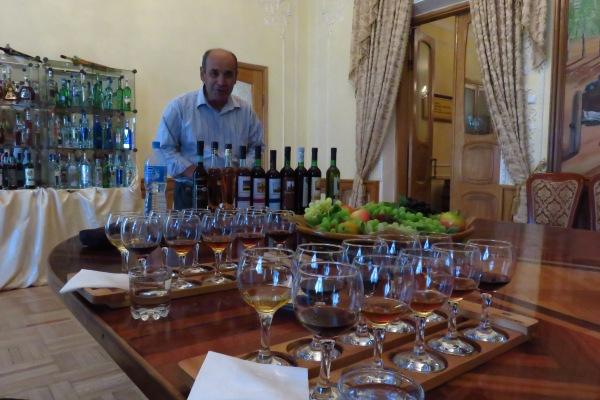 Delicious Uzbek wines