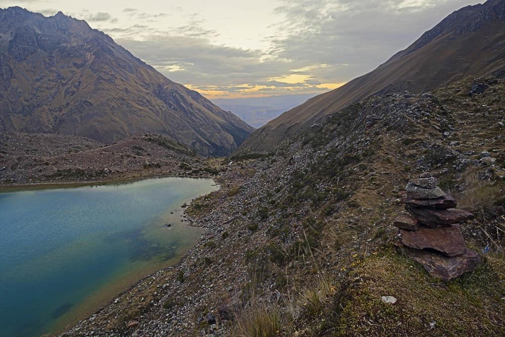 alpine lake view 2