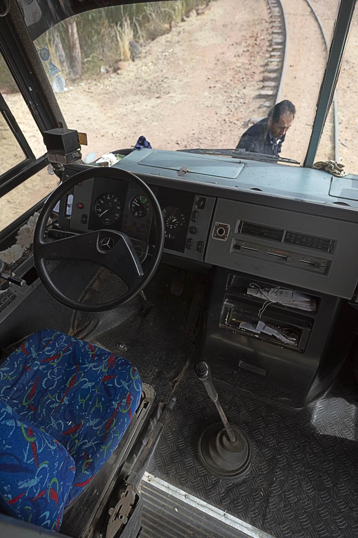 Interior Train Bus