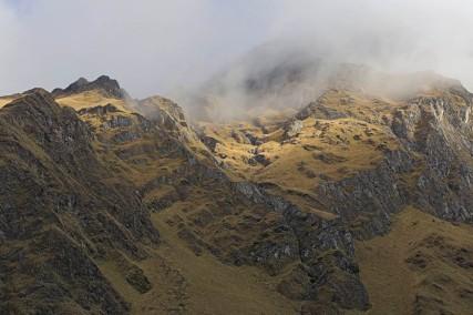 views up to salkantay